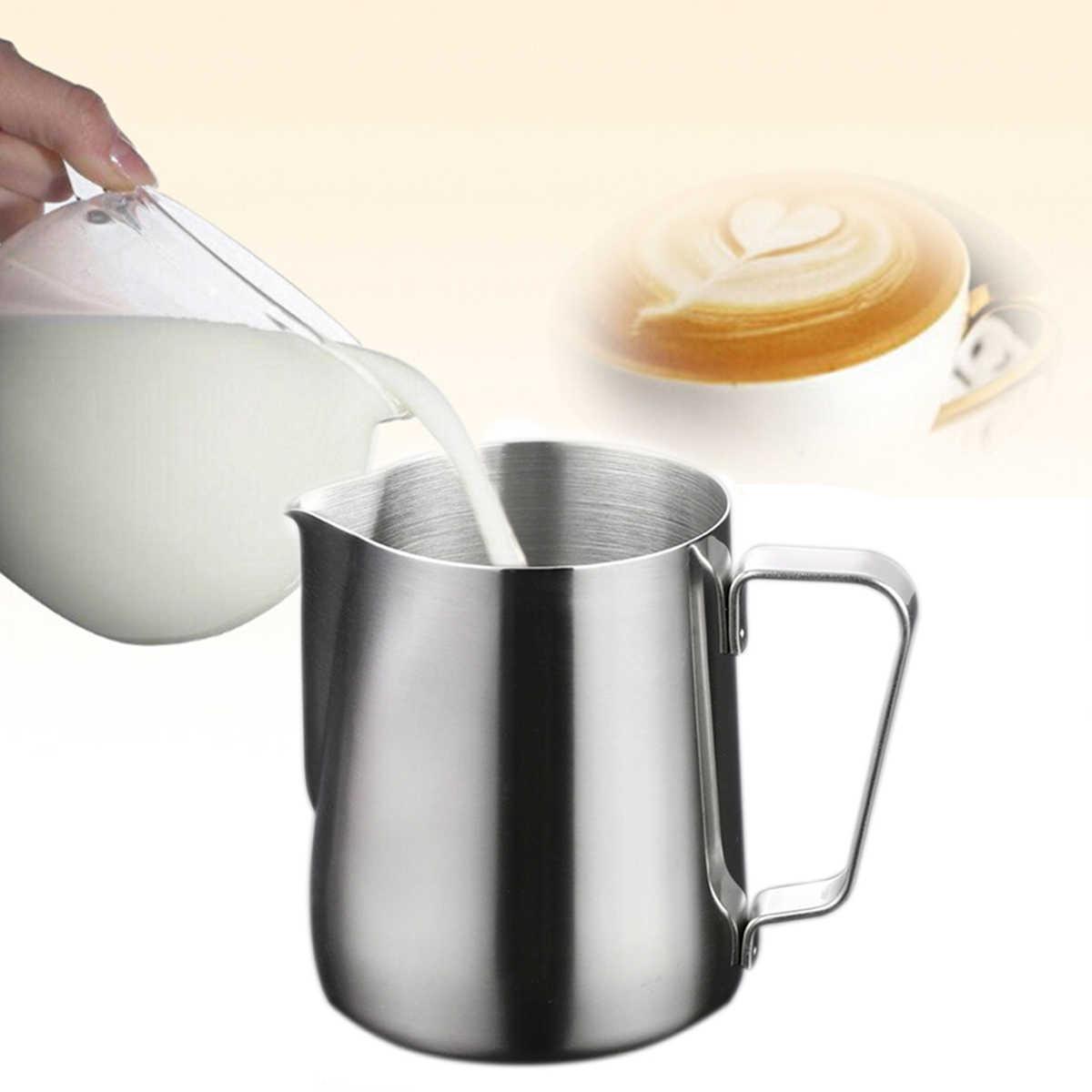 150 мл/1000 мл кружка для взбивания молока латте Pourer капучино кофейник (серебро)