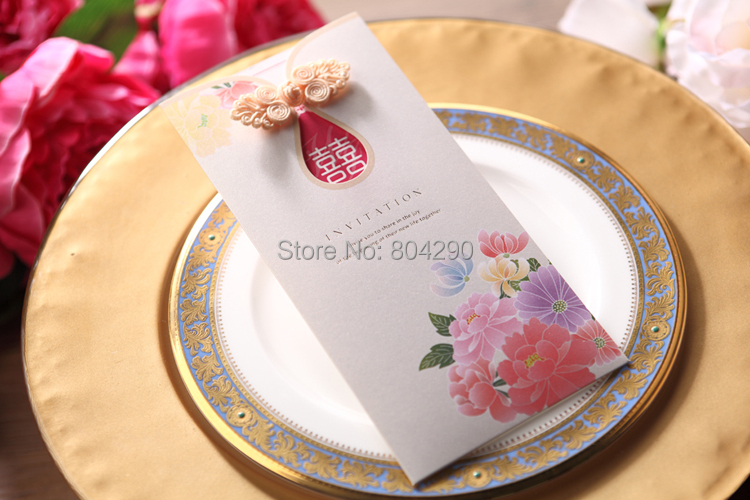 Popular Chinese Wedding Invitation PrintingBuy Cheap Chinese