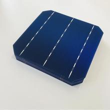 ALLMEJORES panel Solar monocristalino de 200W, 40 unids/lote célula solar, 0,5 V, 4,8 W, calidad superior, 156mm