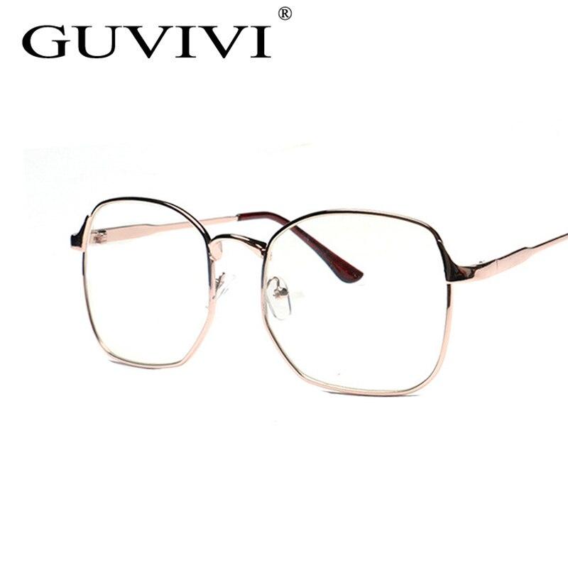 っ2017 GUVIVI Men Woman Glasses Men\'s Optical Frames Clear lens ...