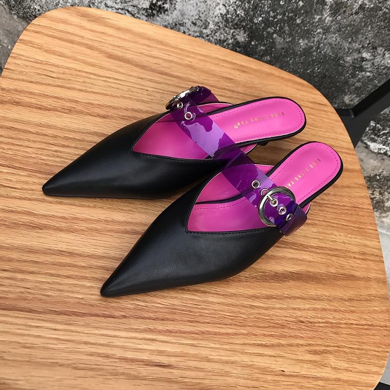 Boucle Talons Dames white Sexy Chaussures Talon Chaton Swb0163 black Transparent Mules Pompes Couleur Blue Haute Femmes Monmoira Sangle Mixte PnzfwOUzx