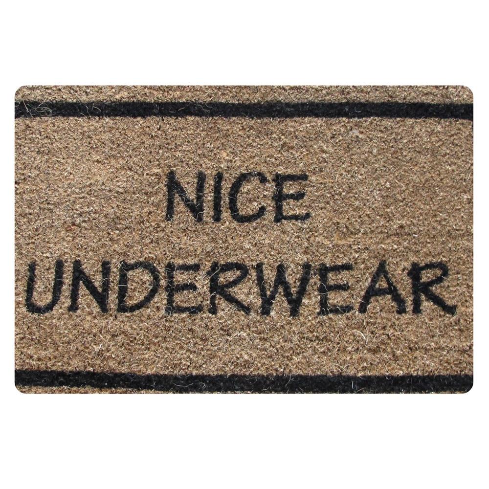 HUGSIDEA Outdoor Thin Funny Carpet Home Nice Underwear