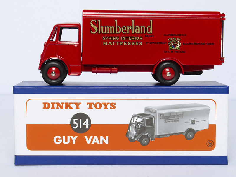 1:43 Atlas 514 GUY VAN Dinky SUPERTOYS Slumberland Spring Interior Mattresses цена