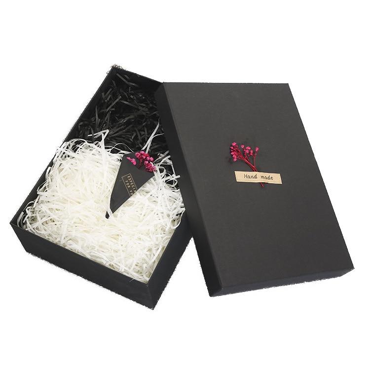 caixa de presente retangular grande caixa de presente preta caixa de presente personalizado