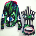 Ds costume dj female singer costumes sparkling paillette laser batwing sleeve piece set