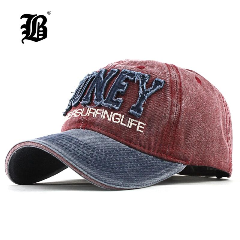 [FLB] New Men'S   Cap   Washed   Baseball     Caps   For Men Streetwear Women Dad Hat Snapback Embroidery Casual Casquette Hip Hop   Cap   F319