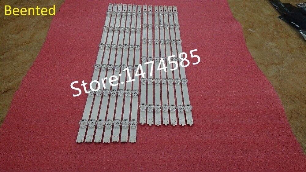 New Original Kit 14 PCS LED Backlight Strip For LG  55LN5400 55LN6200 55LA6210V 55LA6208 LZ5501LGEPWA DL84 R L Pola2.0 55 Inch