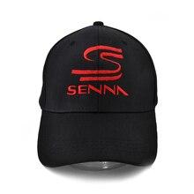 Summer Fashion Hero F1 Ayrton Senna Brand Baseball Cap Men Casual embroidery Adjustable Snapback Caps Hats Man Femal Hat