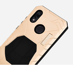 Image 5 - Original IMATCH Daily Waterproof Case For Xiaomi Redmi Note 7/ Pro Luxury Metal Silicone cover 360 Full Protection Phone Cases