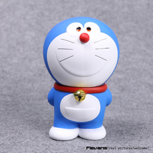 """Doraemon estande, doraemon sorridente, pvc, figura de ação, colecionável, modelo de brinquedo, presentes de 7 """"18cm, drfg057"""