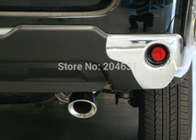 Stainless Steel Auto Exhaust Muffler Exhaust Pipe Car Tail Pipe For HIGHLANDER FJ CRUISER Fast air ship free