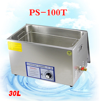 1PC PS 100T 600W Ultrasonic Cleaner for motherboard/circuit board/electronic parts/PBC plate ultrasonic cleaning machine