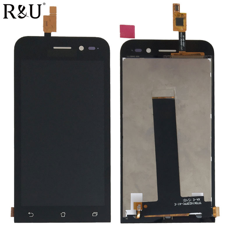R&U new high quality LCD screen Display & Touch Screen Digitizer Glass Assembly for 4.5 ASUS ZenFone Go ZB452KG