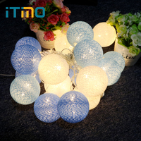 Flexible High Quality Outdoor Lighting Christmas Decoration LED Lighting Strings Patio Decors Fabric White Light