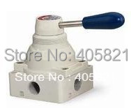 4HV410-15 4 way 2 position Manual Hand lever Pneumatic Valve 1/2 BSPT Hand Return резистор kiwame 5w 240 ohm