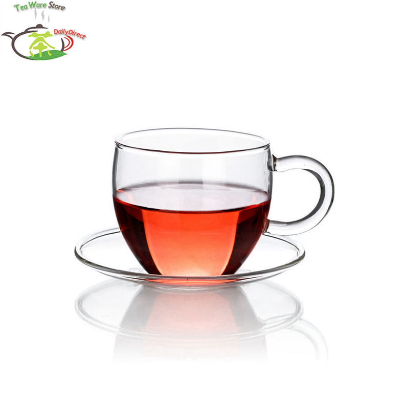 1x Tea Set Kamjove Heat Resistant Glass Teapot Piaoyi Bei Teacup