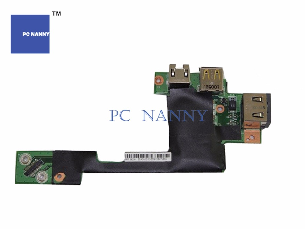New Replacement for Lenovo Thinkpad T510 T510I W510 USB LAN Board