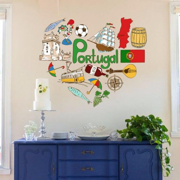 J 39 aime portugal illustration de mode de mariage d cor for Decoration maison portugal