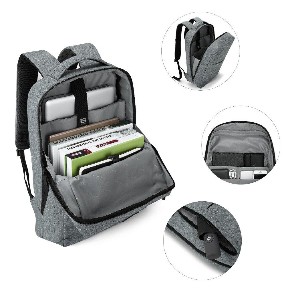 BAGSMART Nouveau sac à dos pour ordinateur portable Multifonction Sac À Dos 15.6 Pouces sac à dos pour ordinateur portable pour Femmes Hommes cartable sac à dos pour mochila mâle - 2