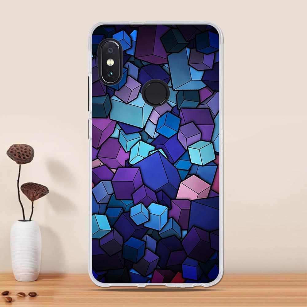 Case For Xiaomi Redmi Note 7 Pro Case Silicone Cover For Xiaomi Redmi S2 6 Pro Case Cover For Xiaomi Redmi Note 5 Pro Phone Case