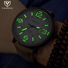 Watch Men YAZOLE Brand Luxury Fashion Sports Watche