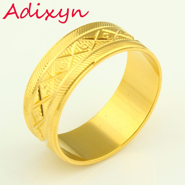 Wedding Rings For Men India: Wide 8mm Fashion Wedding Bands Gold Rings For Women Men