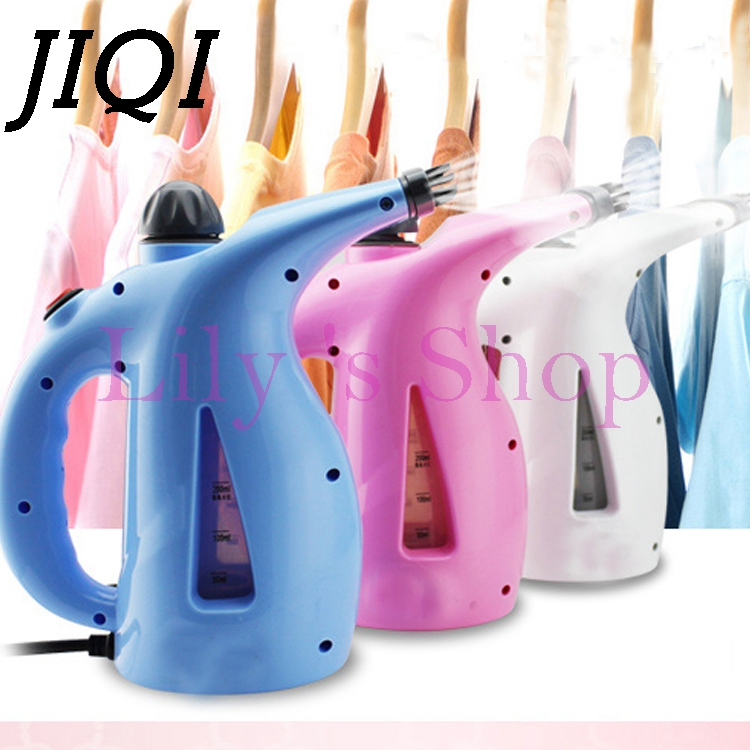 Household MINI Handheld Ironing Machine Portable travel Electric Garment Steamer cloth steam iron brush Humidifier Facial beauty tuv approved garment steamer ironing for all types of fabric wrinkle odor dust and germs free