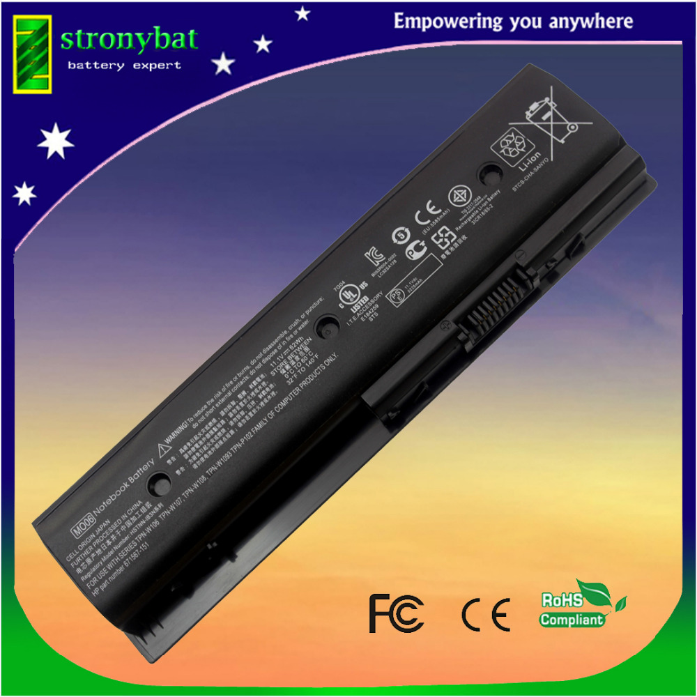 laptop batteri for HP Envy dv4 dv4-5200 dv6-7200 m6 Pavilion dv4 dv4-5000 dv6-7000 MO06 H2L55AA