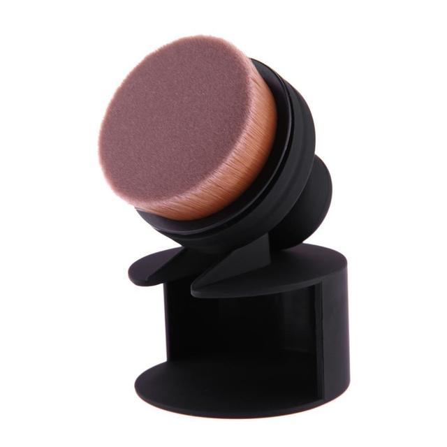 1 PC Single Push-Pull Portable Makeup Brush O Shape Seal Stamp Make up Brushes Foundation Powder Blush Brush Pincel Maquiagem 3