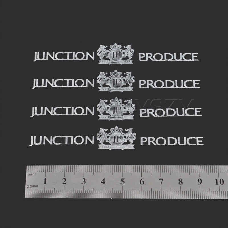 4 Pz JP Adesivi Per Auto del Distintivo Dell'emblema Auto Maniglia Decal per Unione Prodotti BMW Audi VW Nissan Toyota Honda Renault Styling