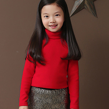 2016 Autumn Long sleeve 100 Cotton T shirt Girls Tops Fashion Baby Kids Clothes Candy Color