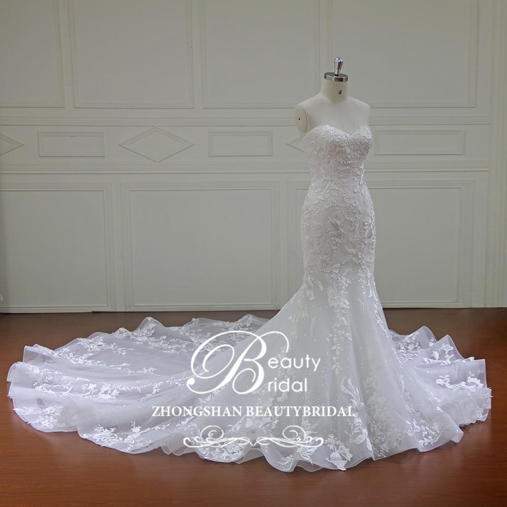 Eslieb Elegant personalizat făcut Vestidos De Novia rochii de - Rochii de mireasa - Fotografie 2