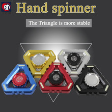 BD Multi Color Triangle Gyro Finger Spinner Fidget Metal EDC Hand For Autism/ADHD Anxiety Stress Relief Focus Toys Gift 5 styles