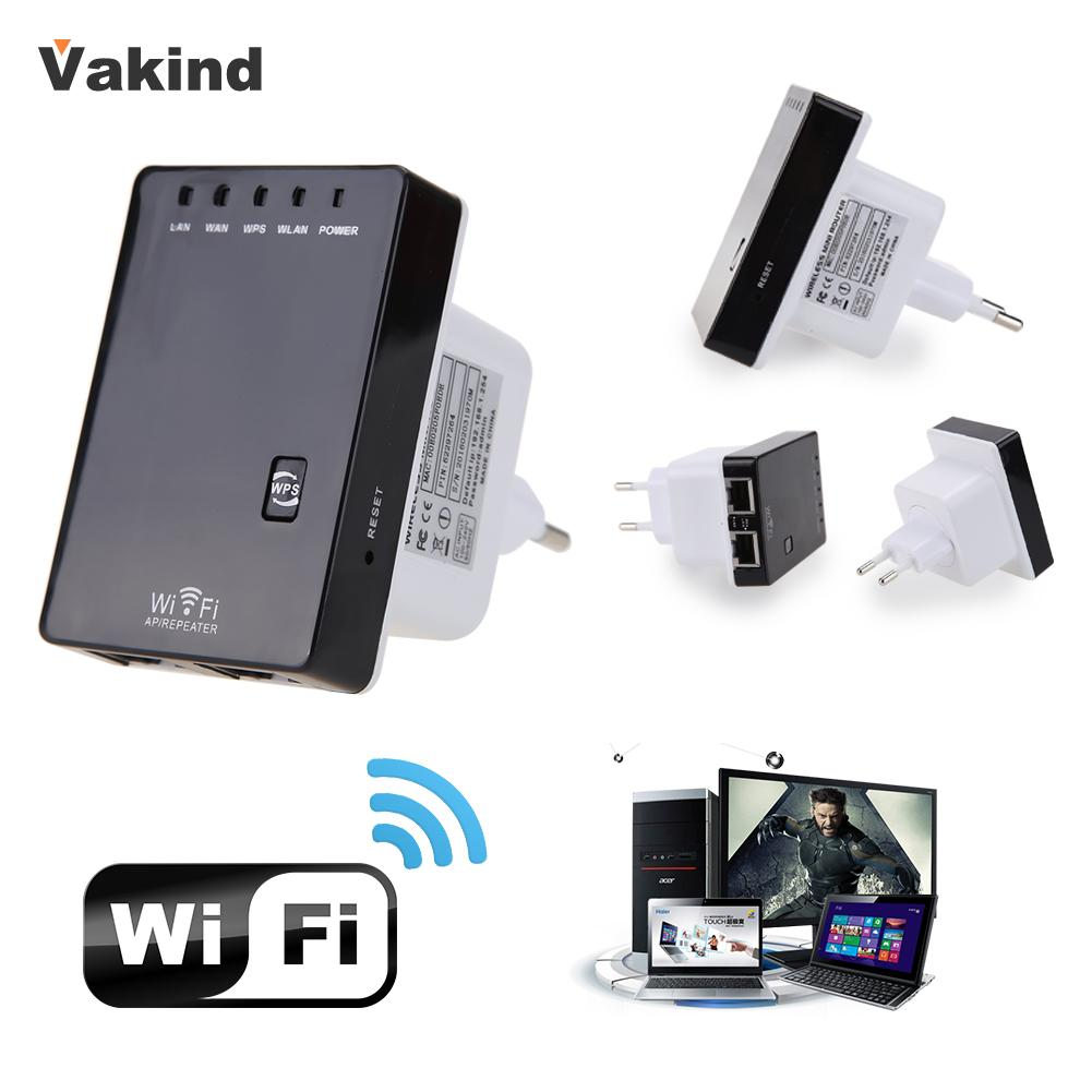 300Mbps 2.4GHZ Wireless Wifi Router AP Repeater Extender Booster Network Cable US Plug/EU Plug Support AP Router Client Bridge