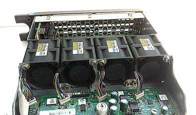 Well Tested 361390-001 For DL360 G4/G4P CPU Front Panel Fan Assembly Module Tray  Working