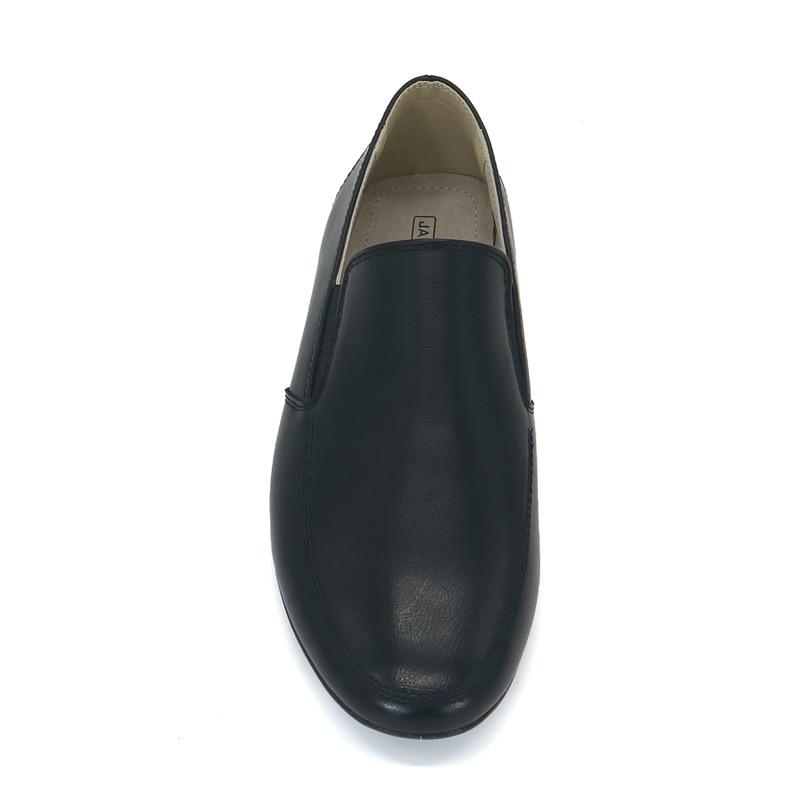 Jackmillerboys Kinderschoenen Jongens Schoenen Zwart Platte slip op - Kinderschoenen - Foto 5
