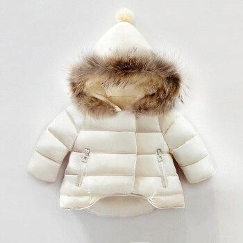 Manteau d'hiver filles manteaux chaud épais Parkas
