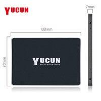 YUCUN Brand SATAIII SSD 240GB 480GB Internal Solid State Drive 2.5 inch HDD Hard Drive 250GB 500GB Laptop Desktop Industrial PC