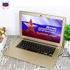 14inch Ultraslim 8GB RAM 64GB SSD Windows 7 10 System Intel Quad Core With Russian Keyboard