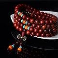 Rosewood Buddhist Buddha Meditation 108 beads Wood Prayer Bead Mala Bracelet Women Men jewelry