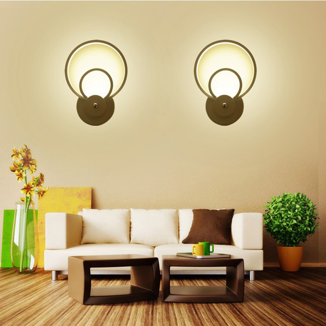 2 Pcslot Applique Murale Moderne Led 16 W Plafonnier Led Intérieur