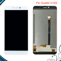 For Oukitel U15S LCD Display+Touch Screen Digitizer Assembly Replacement Oukitel U15 S Free Shipping IN Stock