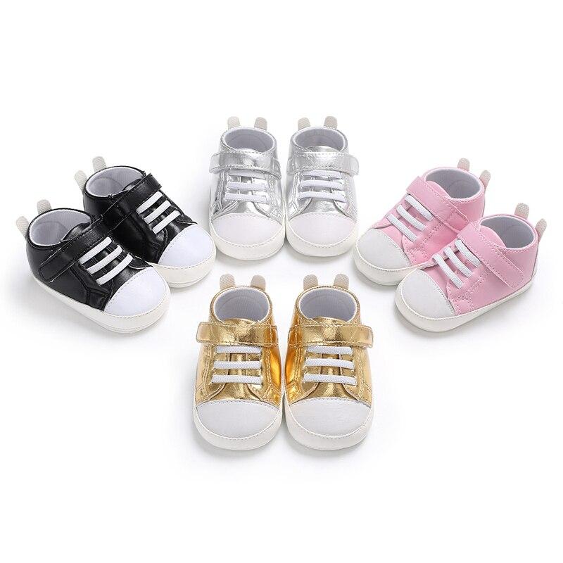 Hard Rubber Bottom Baby Shoes Niemowlęcy spacerowicze Moda PU Skóra - Buty dziecięce - Zdjęcie 6