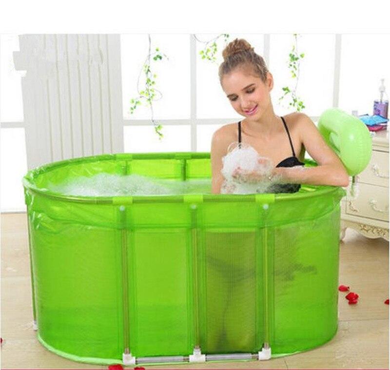 Sauna Bath Dual Purpose Folding Bath Tub With Large Tub