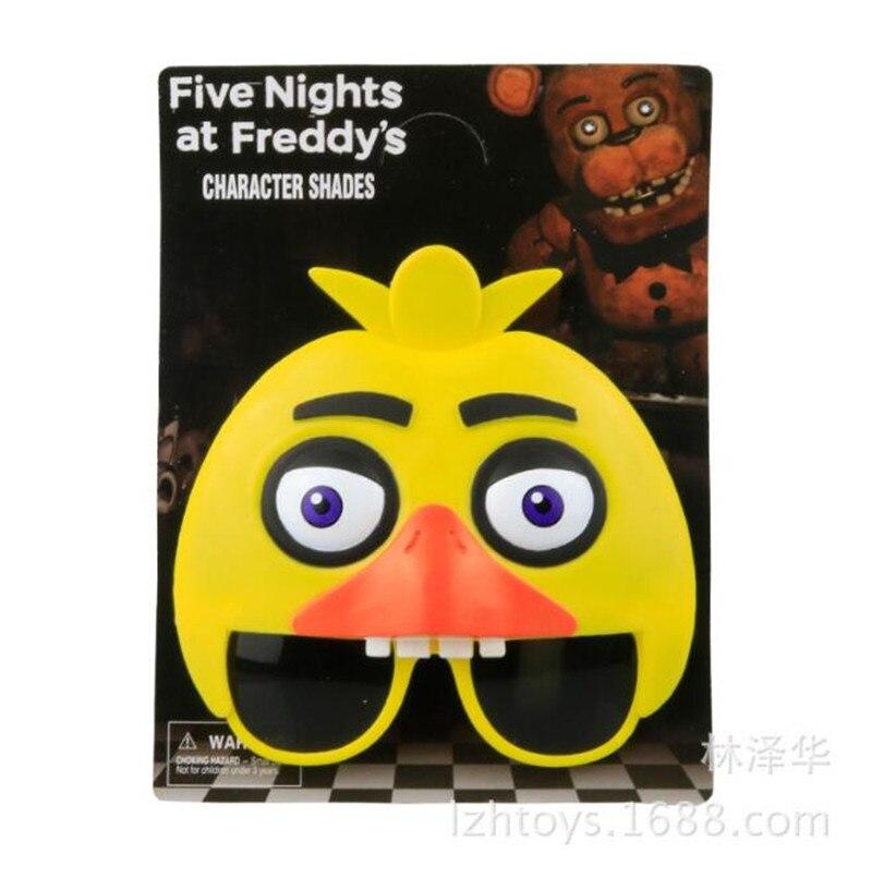 4pcs set five nights at freddy s mask glasses figure fnaf freddy