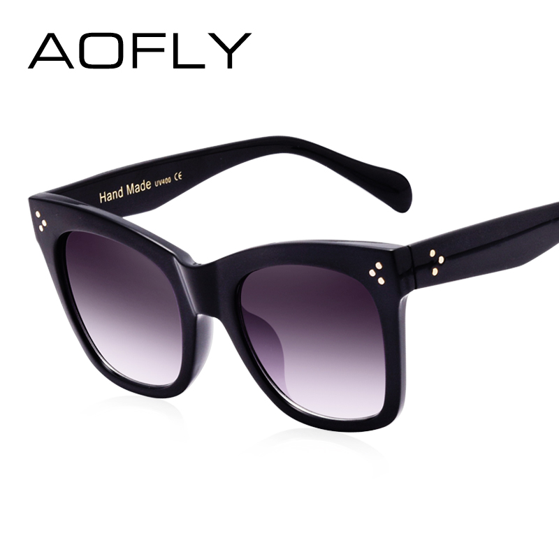 AOFLY Sunglasses Women Luxury Vintage Sun glasses Female