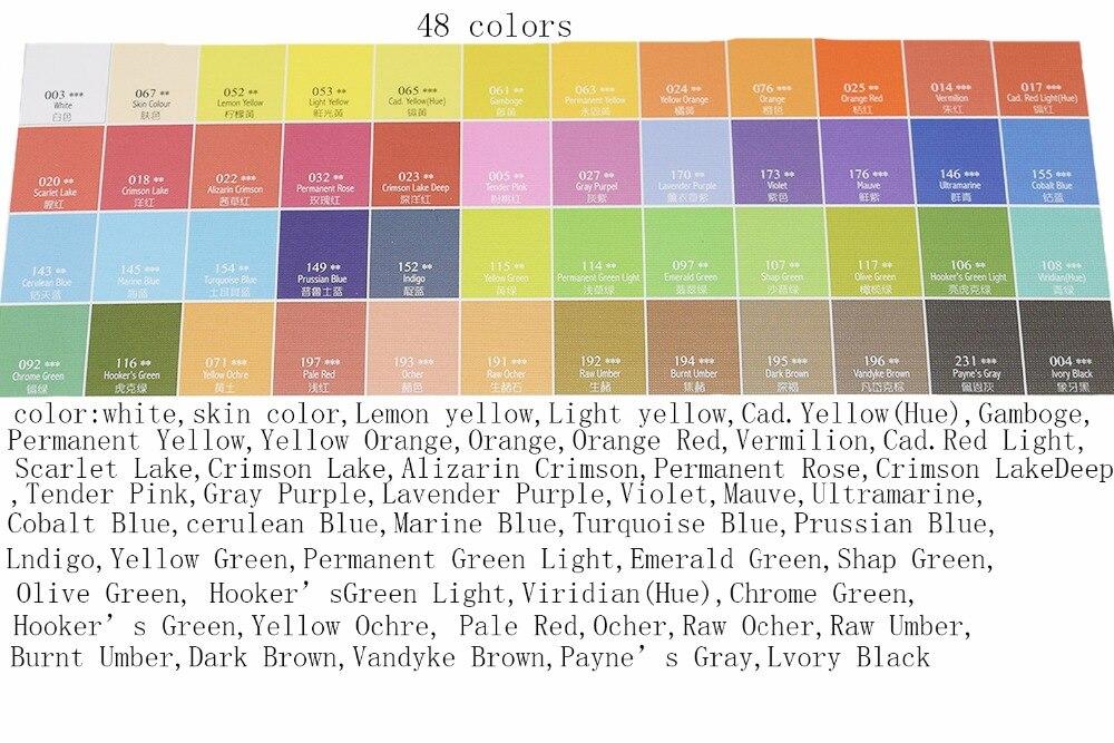 Conjunto Pigmento Arte suprimentos