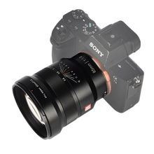 VILTROX 85mm f1.8 Full Frame Manual Fixed focus lens Focus Lens for Camera Sony NEX E mount A9 A7M3 A7R Fujifilm FX