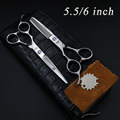 6 Inch Japan Kasho Professional Hair Scissors Left Handed Scissors Barber sets Cutting Shears Hairdressing Salon Tools