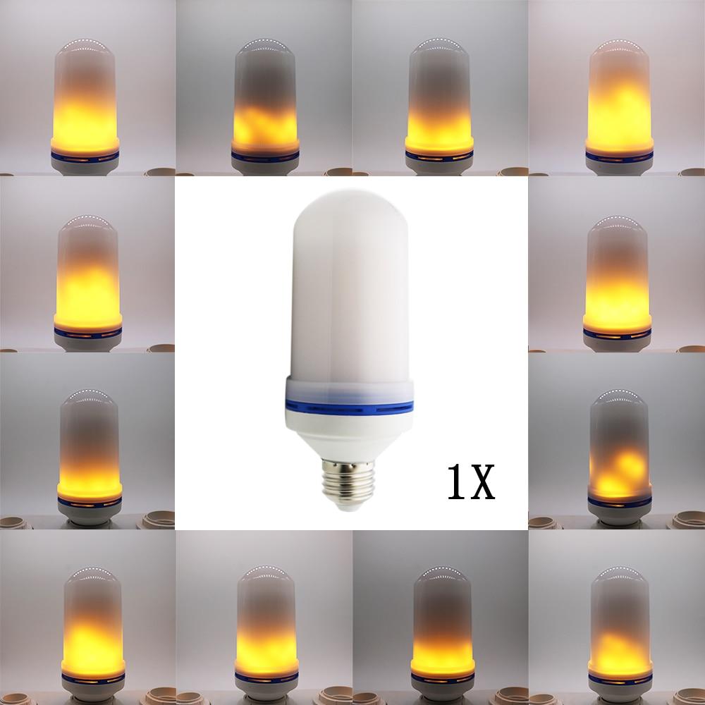 1X E27 Led Flame Lamp LED Flame Effect Light Bulb 10W E26 AC85-260V Flickering Emulation Fire Lights Vintage Decoration Lamp